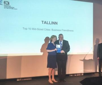 Tallinn on endiselt Euroopa ärisõbralike linnade esikümnes