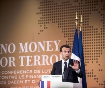 Macron kutsus maailma koostööle terrorismi rahastamise tõkestamiseks
