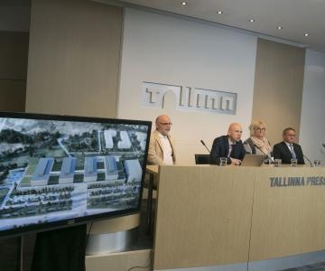 FOTOD JA VIDEO! Tallinna Haigla hakkab poolt Eestit aitama