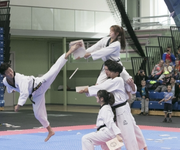 FOTOD JA VIDEO! Taekwondo tutvustusüritus tõi Tallinnasse külalised Lõuna-Koreast