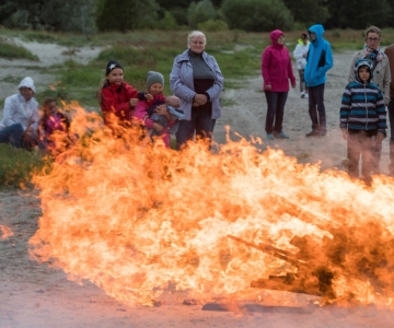 Päästeamet palub Eesti elanikel teha jaanituld ohutult