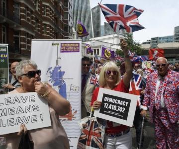 Londonis marssisid tuhanded teise Brexiti-hääletuse toetuseks