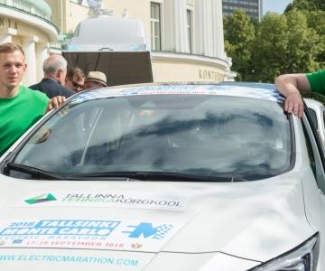 FOTOD JA VIDEO! TAAVI AAS: Tulevik kuulub elektriautodele