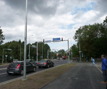 Uus Narva maantee ja Pärnamäe tee ristmik on liiklejatele turvalisem