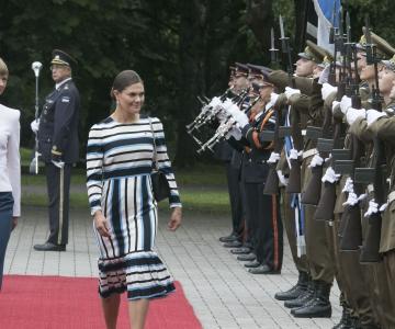 FOTOD! Eestit külastas Rootsi kroonprintsess Victoria