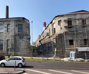 FOTOD: Ajutiselt on nähtav eestiaegne Tselluloosi tänav