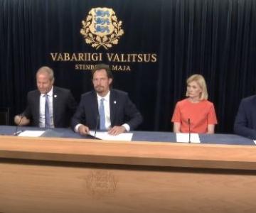 VALITSUSE PRESSIKONVERENTS OTSE: Kuidas parandab järgmise aasta eelarve eestimaalaste elu?