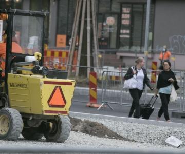 Gonsiori tänava ehitaja ei suutnud õigeaegselt asfaltbetooni tellida