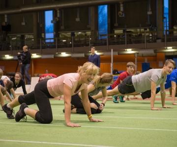 TASUTA! Tule Tallinna spordihommikule treenima!