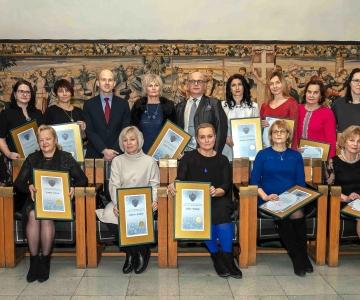 FOTOD! Tallinn tunnustas parimaid tervishoiutöötajaid