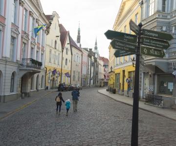 Tallinnas valitakse kesklinna kaunimaid vaateaknaid