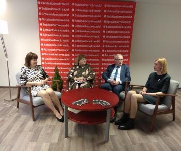 VIDEO! Sotsid lubavad eakatele vähem tervisekulusid ja 700-eurost pensioni