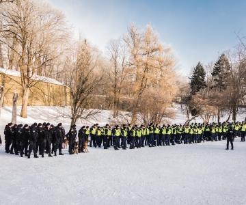 Põhja prefektuur tähistab vabariigi aastapäeva rivistusega Vabaduse väljakul
