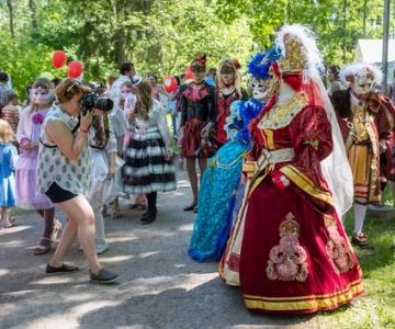 OTSE: Veneetsia karneval Löwenruh pargis