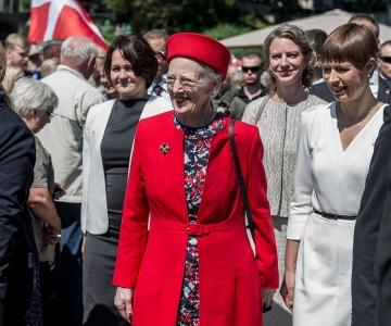 Kuninganna Margrethe II: Tallinnas on toimunud meeletu areng