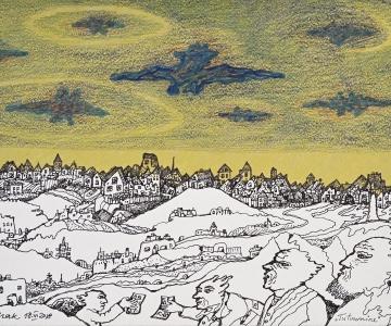 Maalikunsti legend Jüri Arrak avab Tallinna Linnagaleriis näituse