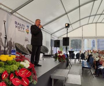 VAATA VIDEOT JA FOTOSID! Balti keti aastapäeva tähistab ajaloopäev Tallinnas