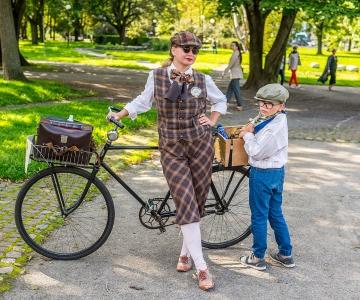 FOTOD: Swingiajastu armastajad veetsid mõnusa pärastlõuna ratta-stiilipeol