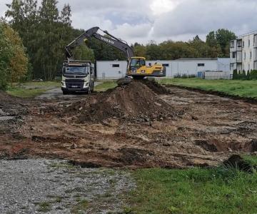Pirital algas uue hooldekodu ehitus