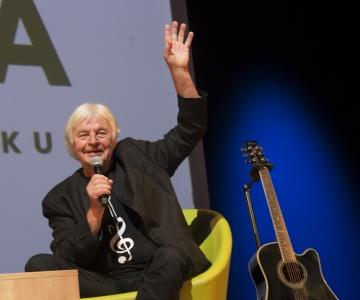 VAATA PILTE! Ivo Linna osales Kaja kultuurikeskuse vestlusõhtul