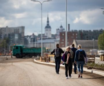 VAATA SKEEMI JA VIDEOT! Tänasest on Tallinnas Ahtri ristmikul sujuvam liiklus