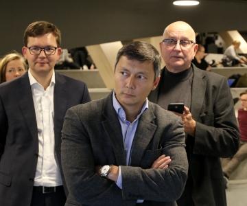FOTOD! Linnapea Mihhail Kõlvart Helsingis: peame aktiivselt arendama kahe linna ühtset piletisüsteemi
