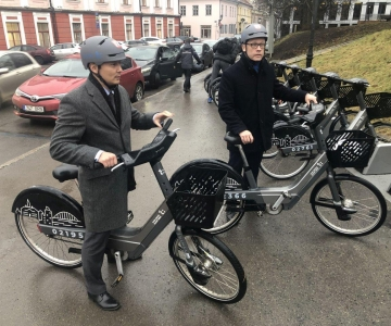 FOTOD! Kõlvart: Tallinnal on huvitav õppida Tartu rattaringluse kogemusest