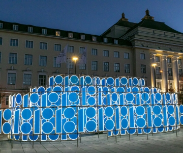 GALERII! Valgusinstallatsioon jääb Estonia juurde kuuks ajaks