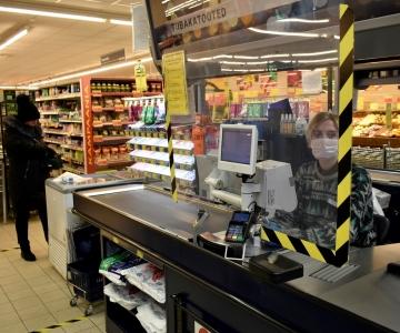 Kristiine ostukeskustes ja toidupoodides täidetakse karantiini ohutuse meetmeid