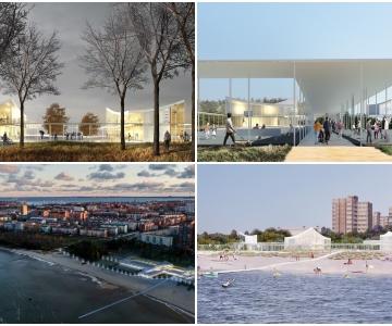 """FOTOD JA VIDEO! UUENEV STROOMI RAND: Rannahoone arhitektuurikonkursi võitjaks valiti """"Rannahoov"""""""