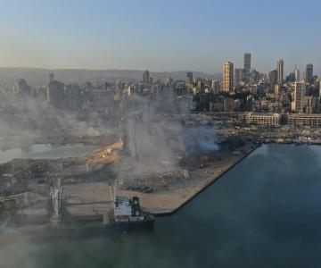 Liibanoni sadamas lendas kahe suure plahvatusega õhku 2750 tonni ammooniumnitraati