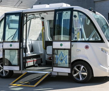 Eestis loodud isejuhtiv buss jõuab peagi Soome teedele