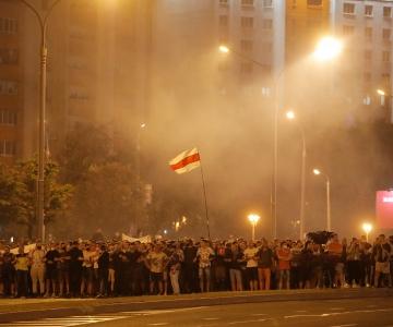 Valgevene pealinnas kähmlesid presidendivalimiste järel meeleavaldajad ja julgeolekutöötajad