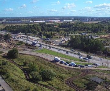 VIDEO! Väo liiklussõlme ehitus toob tänasest liikluskorralduse muudatused