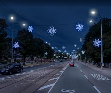VIDEO! Linnast saab rohkete valguslahendustega muinasjutumaa