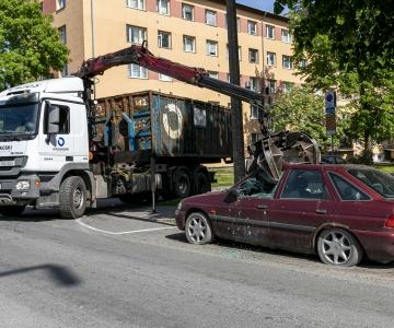 Tallinnast teisaldati novembrikuus 43 sõidukit