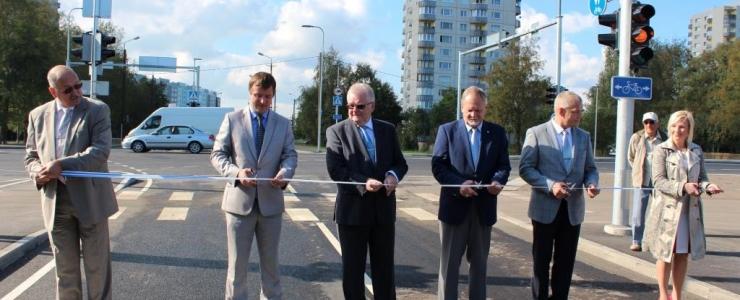Tallinna ohtlikum ristmik muutus turvalisemaks: uued foorid ja lisa sõidurajad