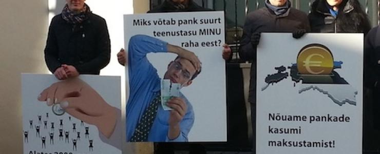 Jürgen Ligi sõimas pankade maksustamist nõudvaid noori: te pole rahvas!