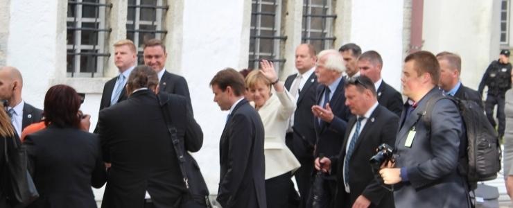 Ahto Lobjakas: Merkeli visiit oli Rõivase isiklik selfieshow