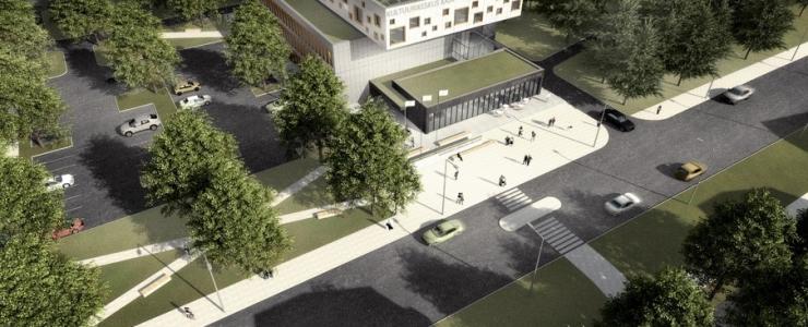 Mustamäele kerkib uus moodne kultuurikeskus