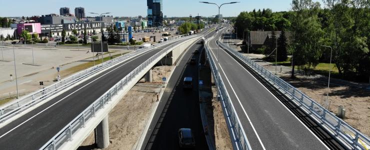 TEETÖÖD: Uus Haabersti viadukt kannatab ka 90-tonnist koormust