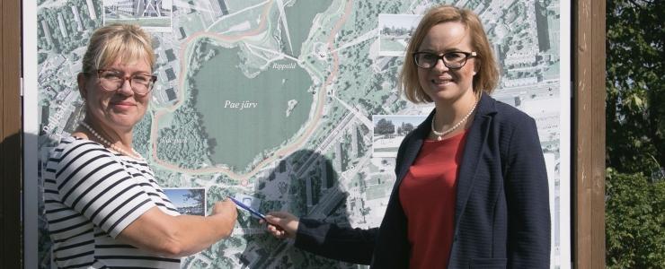 Linn plaanib Pae pargi järveveerde rajada mitmekülgse pallimängukeskuse