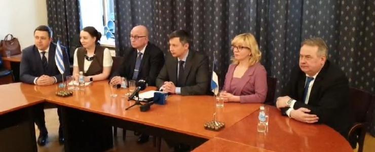 FOTOD JA VIDEO: Tallinna linnavolikogu andis Mihhail Kõlvarti linnavalitsusele heakskiidu