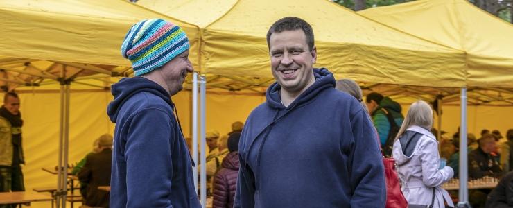 GALERII! Jüri Ratas: Edukas võistlus kinnitab, et eestimaalased mäletavad Paul Kerese saavutusi