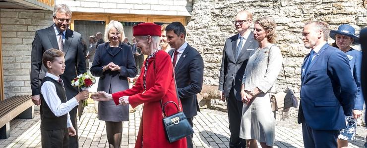 GALERII: Taani kuninganna avas kultuuriajaloolise näituse Kiek in de Kökis