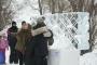 FOTOD! Kesklinna Talvefestivalil muutsid valgusinstallatsioonid ja jääskulptuurid sombuse veebruaripäeva säravaks