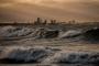 Tugev tuul toob Läänemere põhjaossa kuni neljameetrised lained
