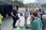 Vilde Spordipargis räägivad politseinikud liiklusest