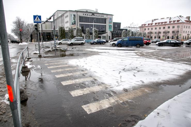 Pärnu ehitab Endla teatri krundile kaubanduskeskuse