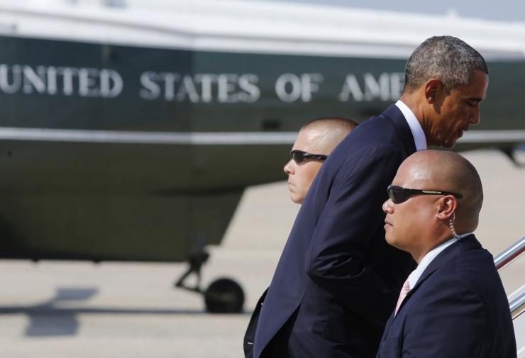 USA president Barack Obama lahkus Eestist